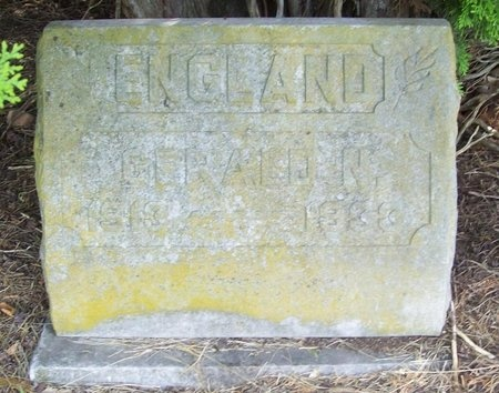 ENGLAND, GERALD N. - Barry County, Missouri | GERALD N. ENGLAND - Missouri Gravestone Photos