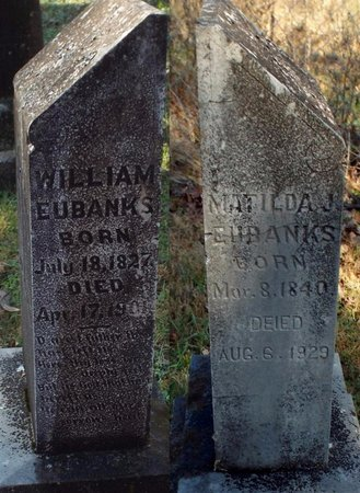 EUBANKS, MATILDA JANE - Barry County, Missouri | MATILDA JANE EUBANKS - Missouri Gravestone Photos