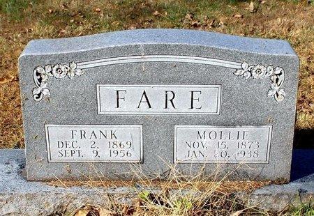 "WILSON FARE, MARY ELIZABETH ""MOLLIE"" - Barry County, Missouri | MARY ELIZABETH ""MOLLIE"" WILSON FARE - Missouri Gravestone Photos"