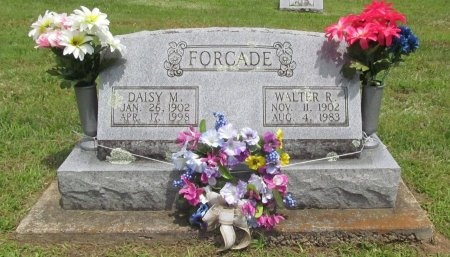 FORCADE, DAISY MAE - Barry County, Missouri | DAISY MAE FORCADE - Missouri Gravestone Photos