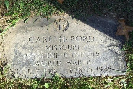 FORD, CARL HENRY (VETERAN WWII) - Barry County, Missouri | CARL HENRY (VETERAN WWII) FORD - Missouri Gravestone Photos