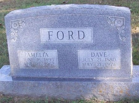 FORD, AMELIA - Barry County, Missouri   AMELIA FORD - Missouri Gravestone Photos