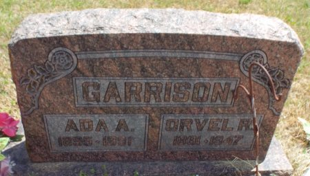 GARRISON, ORVEL RICE - Barry County, Missouri | ORVEL RICE GARRISON - Missouri Gravestone Photos