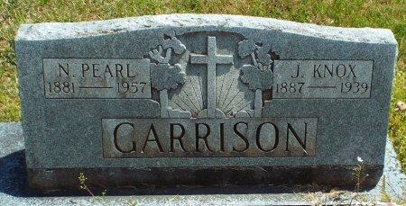 GARRISON, NORA PEARL  - Barry County, Missouri | NORA PEARL  GARRISON - Missouri Gravestone Photos