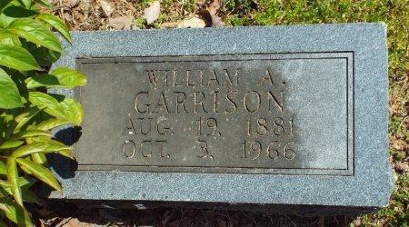 GARRISON, WILLIAM ALONZO - Barry County, Missouri | WILLIAM ALONZO GARRISON - Missouri Gravestone Photos