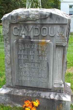 GAYDOU, MATTHEW  - Barry County, Missouri | MATTHEW  GAYDOU - Missouri Gravestone Photos