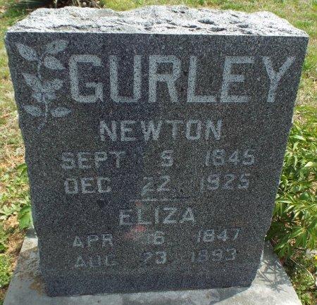 "GURLEY, ALBERT ""NEWTON"" (VETERAN CW) - Barry County, Missouri | ALBERT ""NEWTON"" (VETERAN CW) GURLEY - Missouri Gravestone Photos"