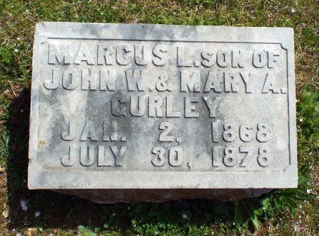 GURLEY, MARCUS LAFAYETTE  - Barry County, Missouri   MARCUS LAFAYETTE  GURLEY - Missouri Gravestone Photos