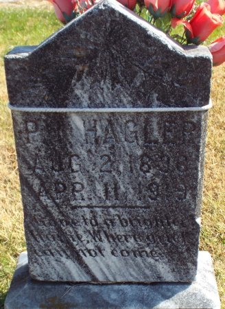 HAGLER, PETER ISAAC - Barry County, Missouri   PETER ISAAC HAGLER - Missouri Gravestone Photos