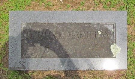 HAMILTON, DEMMAH - Barry County, Missouri   DEMMAH HAMILTON - Missouri Gravestone Photos