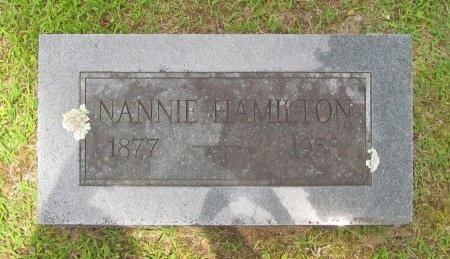 HAMILTON, NANNIE - Barry County, Missouri | NANNIE HAMILTON - Missouri Gravestone Photos