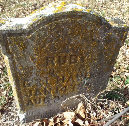 HAWKS, RUBY - Barry County, Missouri | RUBY HAWKS - Missouri Gravestone Photos