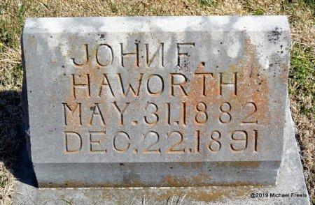 HAWORTH, JOHN FRANKLIN - Barry County, Missouri | JOHN FRANKLIN HAWORTH - Missouri Gravestone Photos