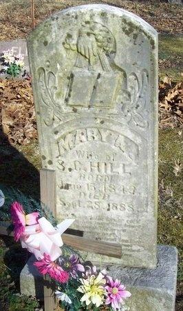 HILL, MARY A. - Barry County, Missouri   MARY A. HILL - Missouri Gravestone Photos