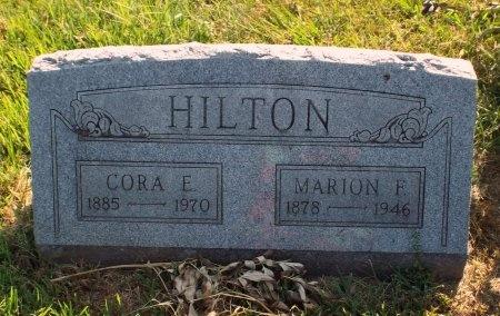 HILTON, MARION FRANCES - Barry County, Missouri | MARION FRANCES HILTON - Missouri Gravestone Photos