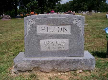 HILTON, ERMA - Barry County, Missouri | ERMA HILTON - Missouri Gravestone Photos