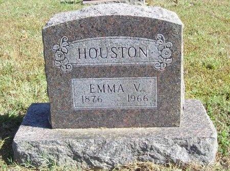 HOUSTON, EMMA V. - Barry County, Missouri   EMMA V. HOUSTON - Missouri Gravestone Photos