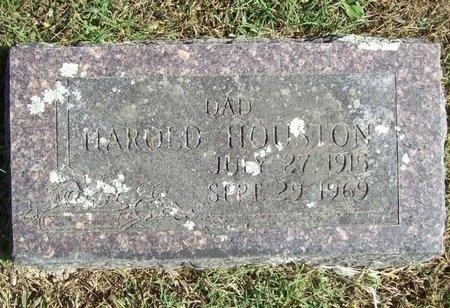HOUSTON, HAROLD - Barry County, Missouri | HAROLD HOUSTON - Missouri Gravestone Photos