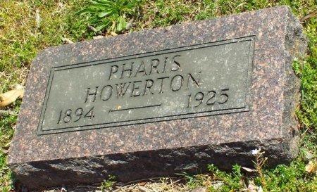 HOWERTON, PHARIS ALEXANDER  - Barry County, Missouri | PHARIS ALEXANDER  HOWERTON - Missouri Gravestone Photos