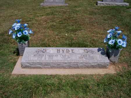 HYDE, EMIT - Barry County, Missouri | EMIT HYDE - Missouri Gravestone Photos