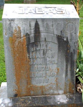 JABAS MALAN, EMMA JULIA - Barry County, Missouri   EMMA JULIA JABAS MALAN - Missouri Gravestone Photos