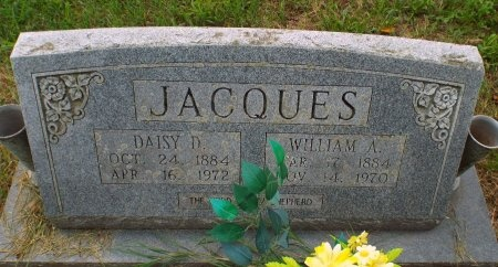 RENO JACQUES, DAISY D - Barry County, Missouri | DAISY D RENO JACQUES - Missouri Gravestone Photos