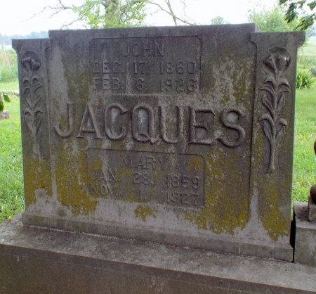 JACQUES, MARY - Barry County, Missouri | MARY JACQUES - Missouri Gravestone Photos