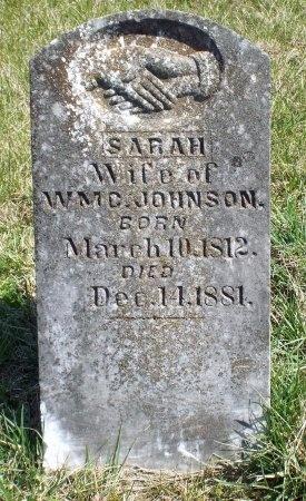 JOHNSON, SARAH - Barry County, Missouri | SARAH JOHNSON - Missouri Gravestone Photos