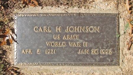JOHNSON, CARL H (VETERAN WWII) - Barry County, Missouri | CARL H (VETERAN WWII) JOHNSON - Missouri Gravestone Photos