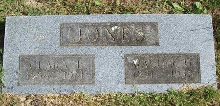 JONES, WALTER H. - Barry County, Missouri | WALTER H. JONES - Missouri Gravestone Photos