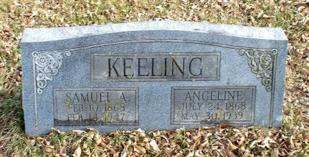 OVERTON KEELING, HARRIET ANGELINE - Barry County, Missouri | HARRIET ANGELINE OVERTON KEELING - Missouri Gravestone Photos