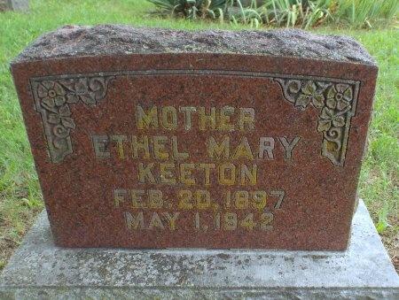 KEETON, ETHEL MARY - Barry County, Missouri | ETHEL MARY KEETON - Missouri Gravestone Photos