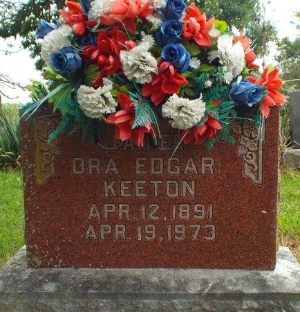 KEETON, ORA EDGAR - Barry County, Missouri | ORA EDGAR KEETON - Missouri Gravestone Photos