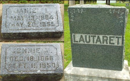 LAUTARET, JENNIE M. - Barry County, Missouri | JENNIE M. LAUTARET - Missouri Gravestone Photos