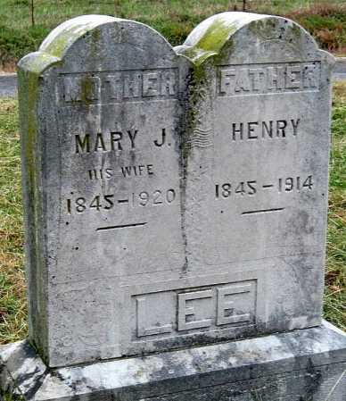 LEE, HENRY - Barry County, Missouri | HENRY LEE - Missouri Gravestone Photos