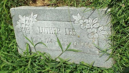 LEE, LUTHER - Barry County, Missouri | LUTHER LEE - Missouri Gravestone Photos