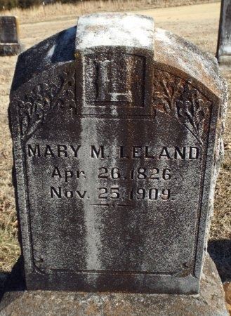 LELAND, MARY M - Barry County, Missouri | MARY M LELAND - Missouri Gravestone Photos