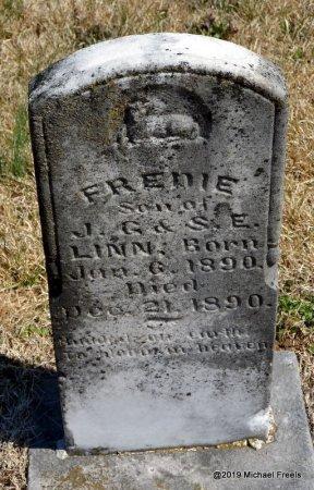 LINN, FREDIE - Barry County, Missouri | FREDIE LINN - Missouri Gravestone Photos