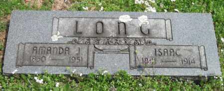 LONG, AMANDA JANE - Barry County, Missouri   AMANDA JANE LONG - Missouri Gravestone Photos