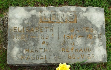 LONG, ELISABETH FRANCIS - Barry County, Missouri | ELISABETH FRANCIS LONG - Missouri Gravestone Photos