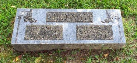 LONG, FANNY - Barry County, Missouri | FANNY LONG - Missouri Gravestone Photos