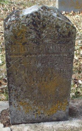 LONG, INFANT - Barry County, Missouri | INFANT LONG - Missouri Gravestone Photos