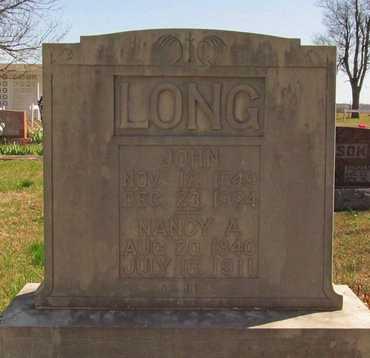 LONG, JOHN - Barry County, Missouri | JOHN LONG - Missouri Gravestone Photos