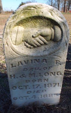 LONG, LAVINA F. - Barry County, Missouri   LAVINA F. LONG - Missouri Gravestone Photos