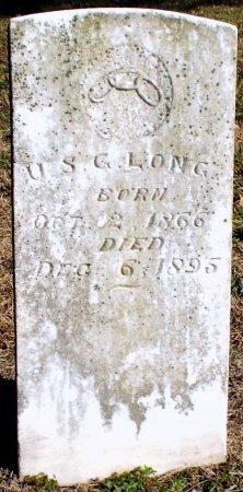 LONG, U. S. GRANT - Barry County, Missouri | U. S. GRANT LONG - Missouri Gravestone Photos