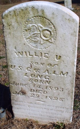LONG, WILLIE U. - Barry County, Missouri | WILLIE U. LONG - Missouri Gravestone Photos