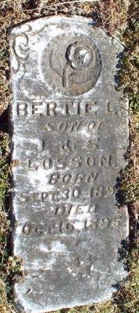 LOSSON, BERTIE L - Barry County, Missouri   BERTIE L LOSSON - Missouri Gravestone Photos