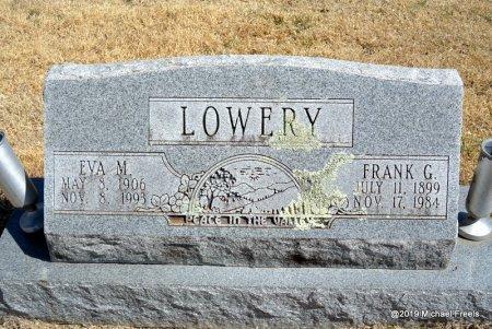 LOWERY, FRANK G - Barry County, Missouri | FRANK G LOWERY - Missouri Gravestone Photos