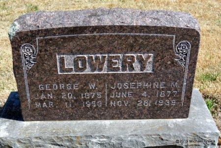 LOWERY, GEORGE W - Barry County, Missouri | GEORGE W LOWERY - Missouri Gravestone Photos