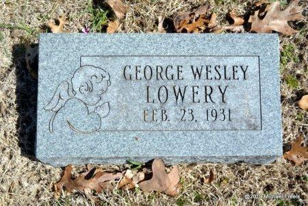 LOWERY, GEORGE WESLEY - Barry County, Missouri | GEORGE WESLEY LOWERY - Missouri Gravestone Photos